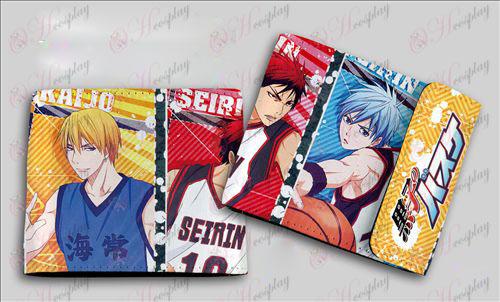 QB-6106kuroko's Basketball Accessories colored snaps wallet
