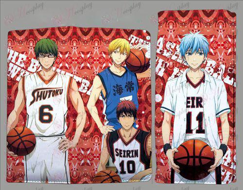 Basket-ball Accessoires QB2203kuroko pochette de couleur pli