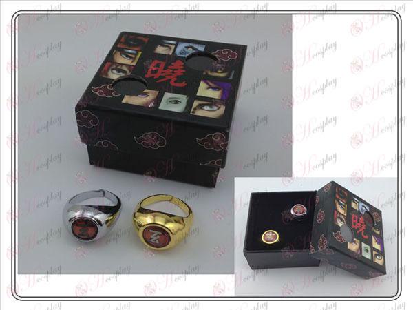Naruto Xiao Organization färg ring (svart)