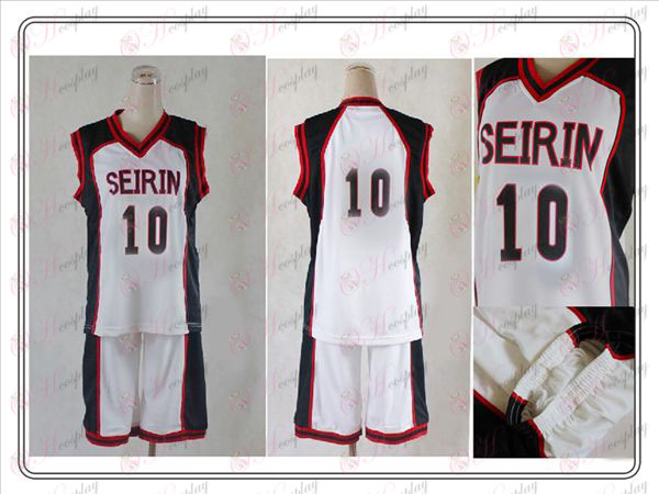 kuroko's Basketball Accessories Cheng Rin college Vulcan COS No. 10 jersey