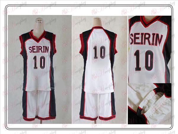 Kuroko koripallo Tarvikkeet Cheng Rin college Vulcan COS nro 10 jersey