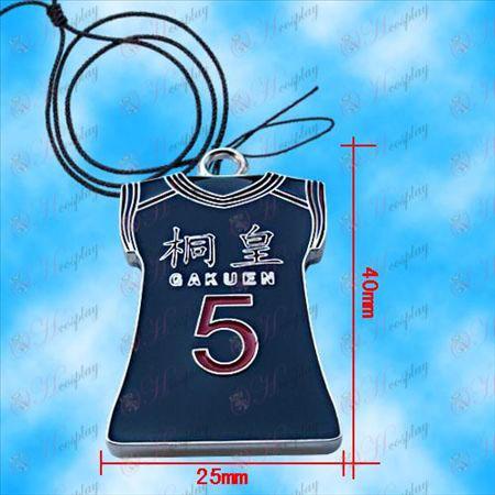 Kuroko כדורסל - Qingfeng Taifair ג\'רזי שרשרת