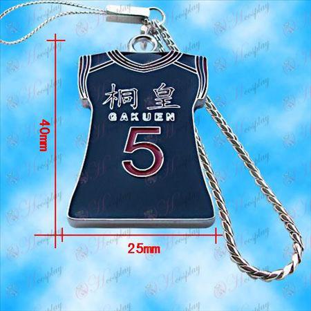 Kuroko כדורסל - Qingfeng ג'רזי יאנג שרשרת מכונה טאי-FAI