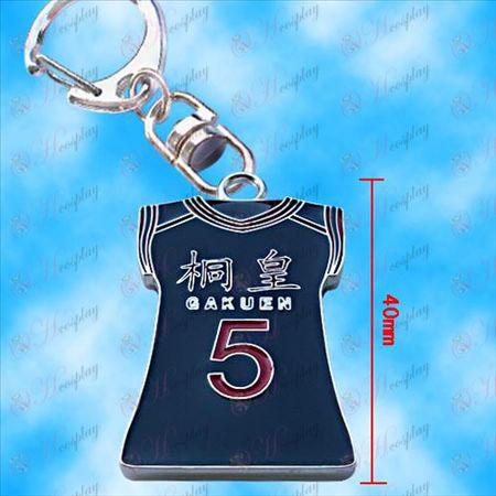 Kuroko Basketball - Qingfeng Taifair Trikot hängende Wölbung