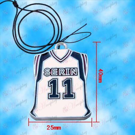 Sonnenfleck Basketball - Sonnenflecken Trikot Halskette