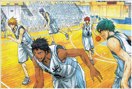 Kurokos Basketball Zubehör Puzzle 1383