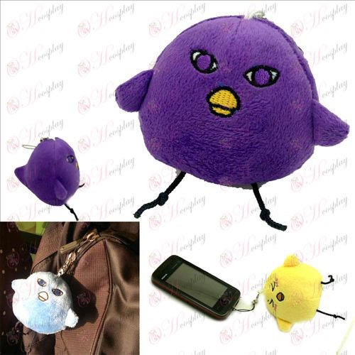 Originele purple sprouting Chick Pluche Charm - zonnevlekken basketbal