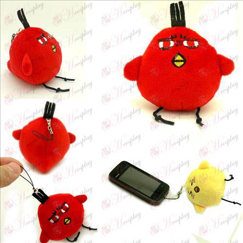 Vulcan Meng kycklingar röd plysch Charm - Kuroko basket