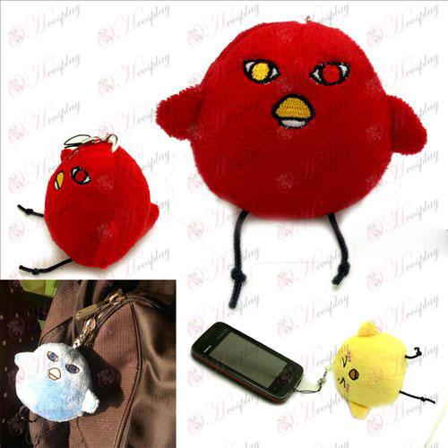Secretary Meng chickens crimson red plush Charm - Kuroko's Basketball