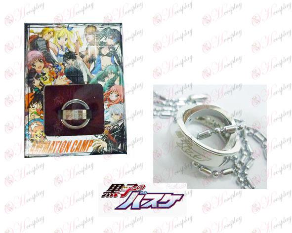 אבזרים הכדורסל של Kuroko שרשרת טבעת כפולה