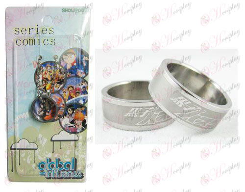 Basket Accessori Frosted Anello carta di Kuroko installato