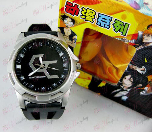 Guilty Crown Tarvikkeet Scale Watch - Musta