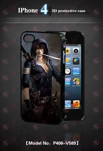 3D mobiele telefoon shell Apple 4Daomu Accessoires