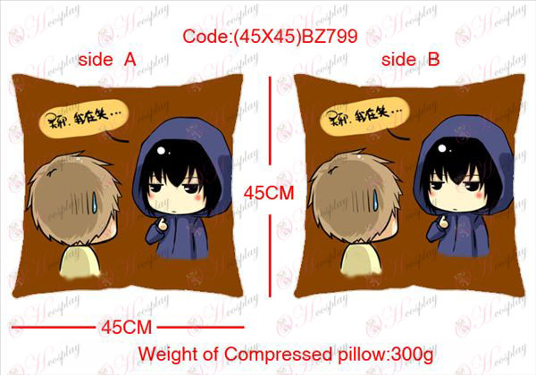 (45X45) BZ799-Daomu Accessories Anime sided square pillow