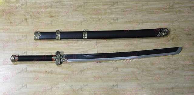 Daomu اكسسوارات القديمة الذهب الأسود سكين