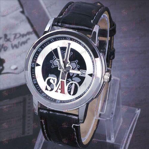 Sword Art prihlásený Príslušenstvo Heijian zavesenie kalendár hodinky