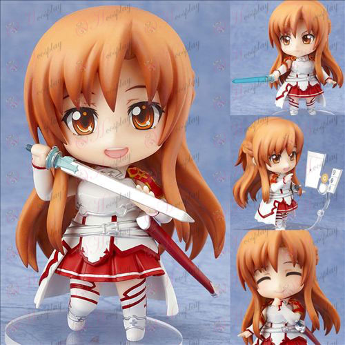 Sword Art on-line Accessories283 # Asuna Q έκδοση του πηλού