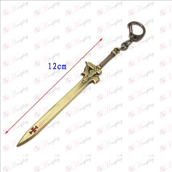 Pieni Sword Art Online Tarvikkeet Knife Buckle (pronssi)