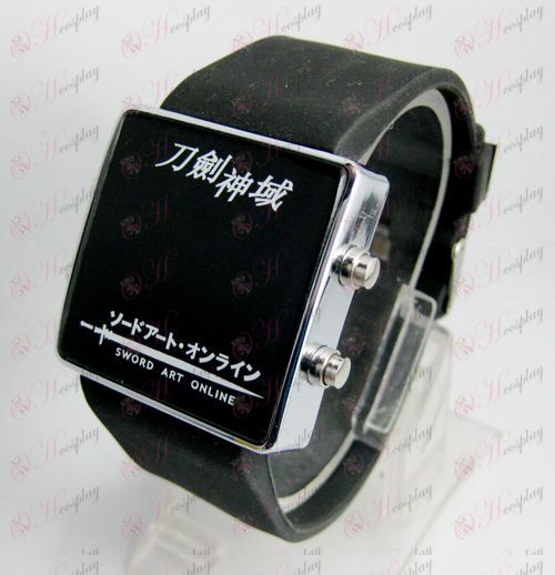 Sword Art Online AccessoriesLED sports watch - black strap