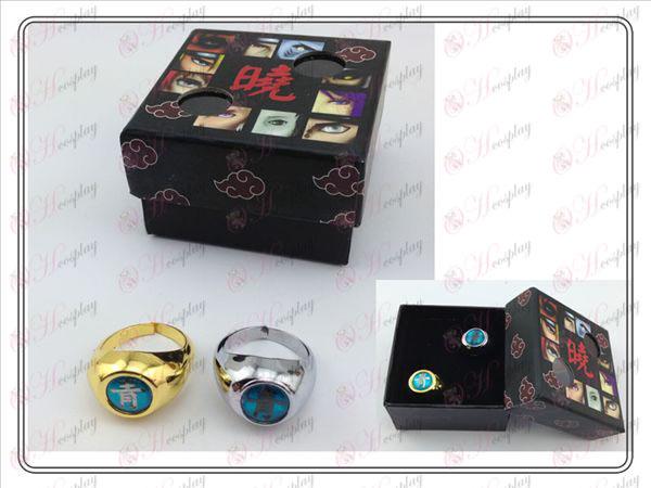 Naruto Xiao Organization farge ring (blå)