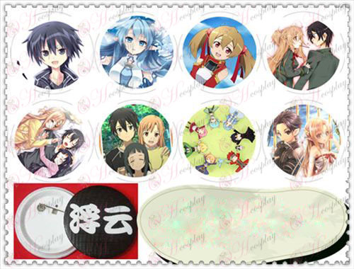 58MM Gyrosigma badge-Sword Art Online AccessoriesB