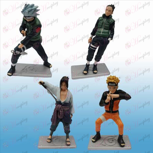 25 Generasjon 4 modeller Naruto dukke vugge