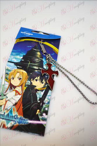 Sword Art Online Accessories Cross Strap (Red)