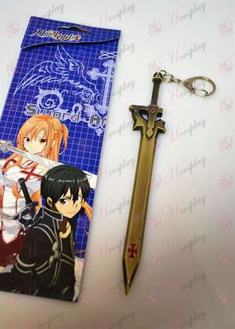 Sword Art Online Accessories knife buckle (B Bronze)