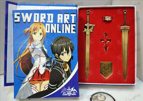 Sword нож пет комплекта комплекти (бронз)