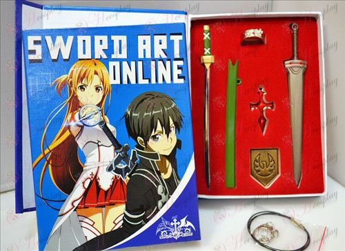 Plus нож обвити меч опаковка (пистолет цвят)