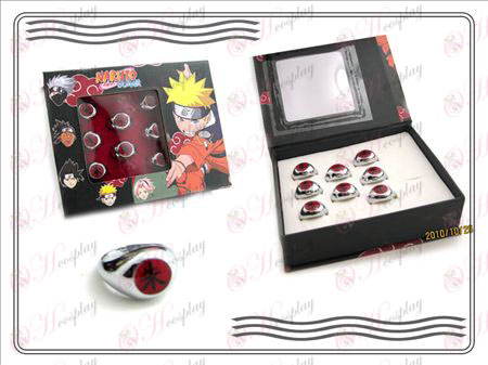 Naruto Xiao Organization boxed (Chu) Zi Ring Halloween Accessories Online Store