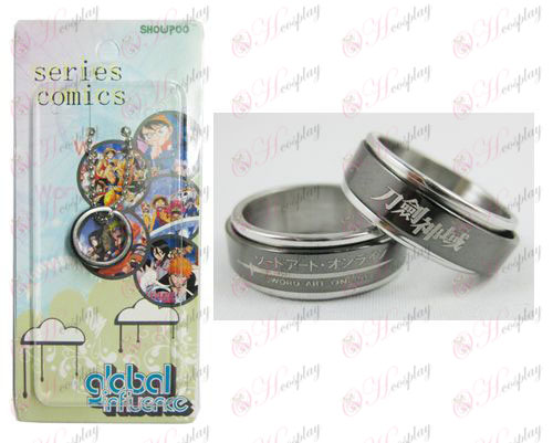 Sword Art Online Accessories Black Steel Ring transporter