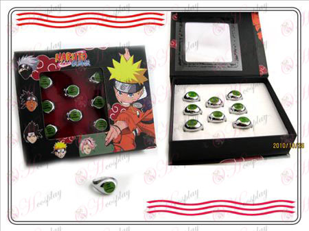 Naruto Xiao Organization boxed (tre) ord ring