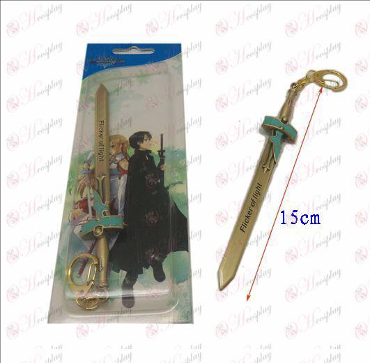 Sword Art prihlásený Príslušenstvo nôž pracka 3 (bronz) farba