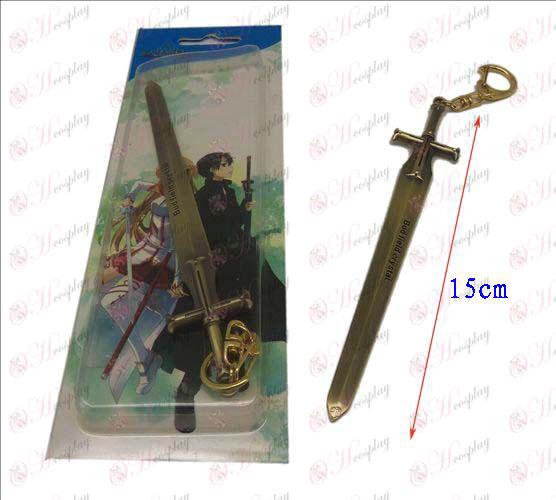 Schwert Art Online Zubehör Messer Schnalle 2 (Bronze)