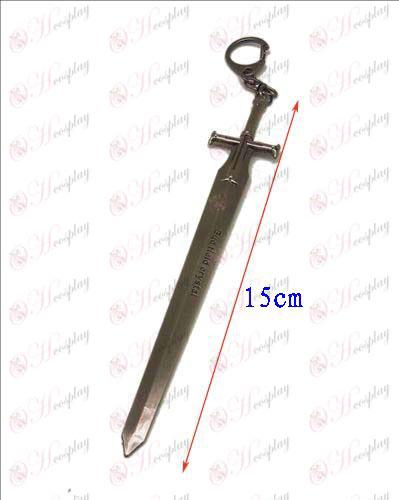 Sword Art Online Аксесоари нож ключалката 2 (пистолет цвят)