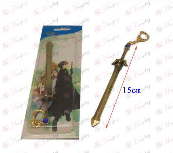 Sword Art Online Аксесоари нож ключалката 1 (мед)