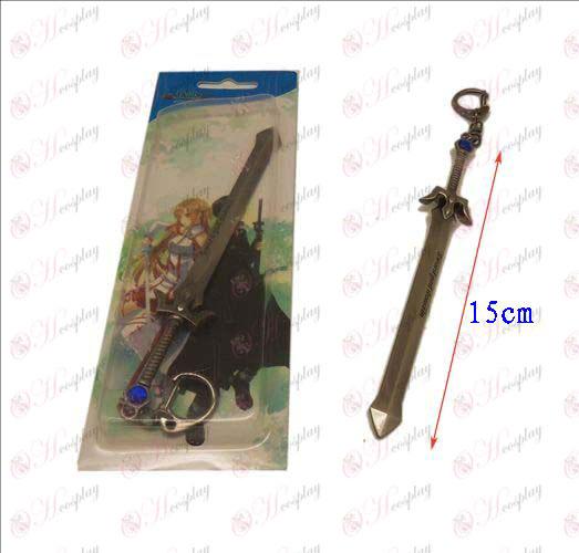 Sword Art Online Аксесоари нож ключалката 1 (пистолет цвят)
