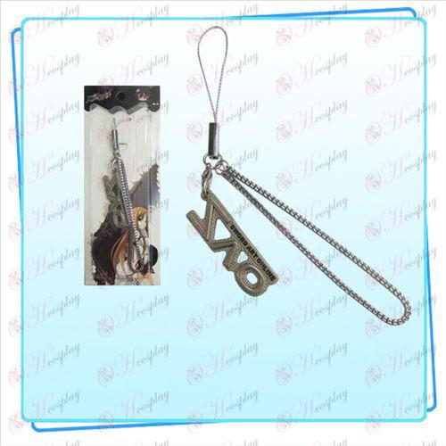 Schwert Art Online AccessoriesSAO Flagge Strap (Perle Nickel Farbe)