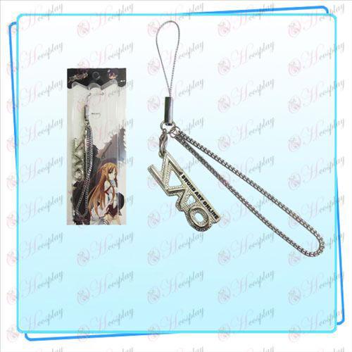 Sword Art Online AccessoriesSAO flag Strap (Silver)