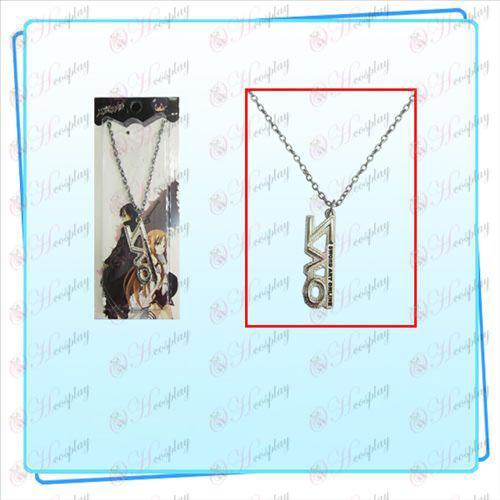 Schwert Art Online AccessoriesSAO Zeichen Halskette (silber)