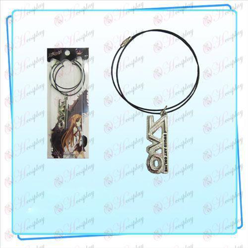 Sword Art Online TilbehørSAO flag wire kæde (sølv)