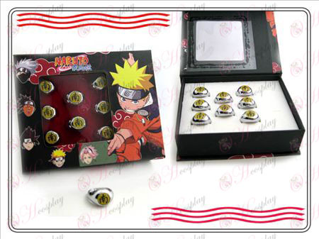 Naruto Xiao Organization boxed (South) Word Ring