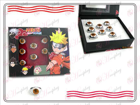 Naruto Xiao Organisation boxed (Null) Charakter Ring