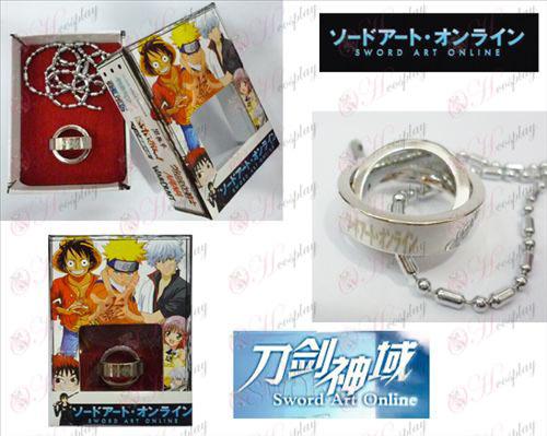 Sword Art Online Accessoires Dubbele Ring Ketting