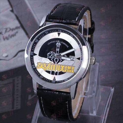 ליגה של השעיה אבזרים אגדות לוח שעון