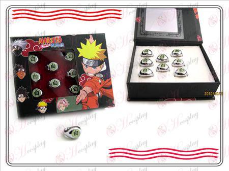 Naruto Xiao Organizácia krabicu (biela) Word krúžok