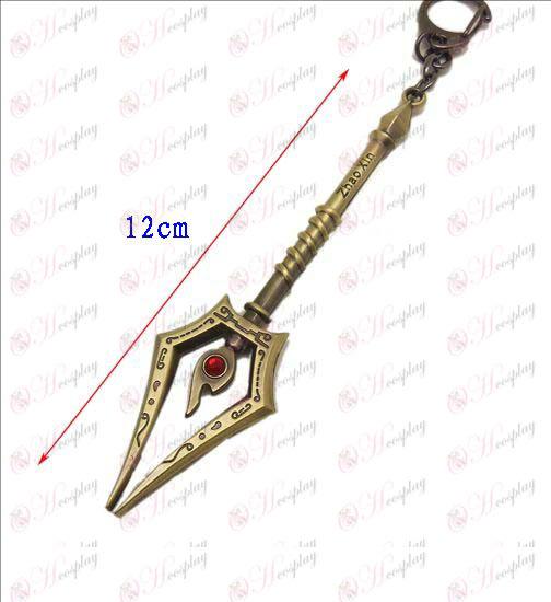 Малката лига на Legends Аксесоари нож ключалката 7 (бронз)