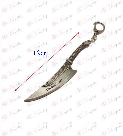 ליגה קטנה של סכין אבזרים אגדות אבזם 4 (צבע אקדח)