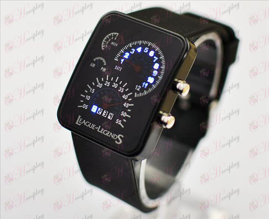 (12) League of Legends Accessoires-meter schotel horloge